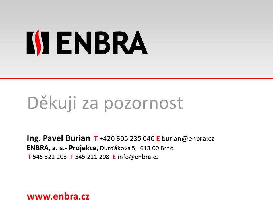 www.enbra.cz 24.9.2016Název prezentace - nastavit: Zobrazit > Záhlaví a zápatí > Pole zápatí 32/15 Děkuji za pozornost Ing.