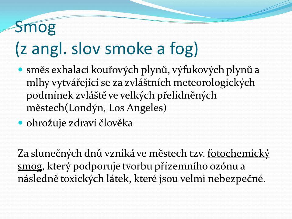 Smog (z angl.