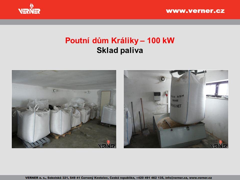 Poutní dům Králiky – 100 kW Sklad paliva