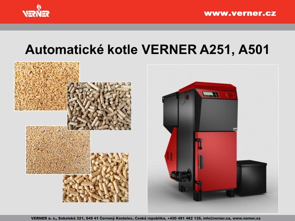 Automatické kotle VERNER A251, A501