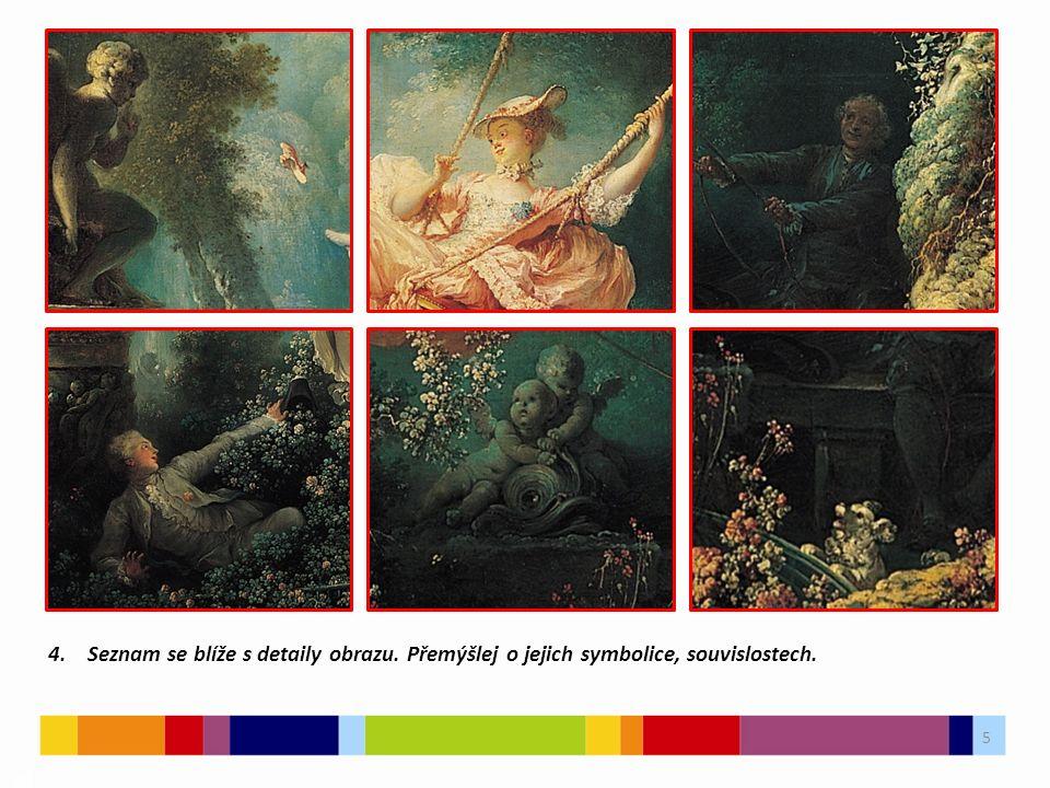 5 03 4. Seznam se blíže s detaily obrazu. Přemýšlej o jejich symbolice, souvislostech.