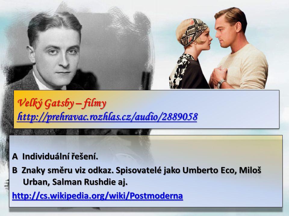 Velký Gatsby – filmy http://prehravac.rozhlas.cz/audio/2889058 http://prehravac.rozhlas.cz/audio/2889058 Velký Gatsby – filmy http://prehravac.rozhlas.cz/audio/2889058 http://prehravac.rozhlas.cz/audio/2889058 A Individuální řešení.