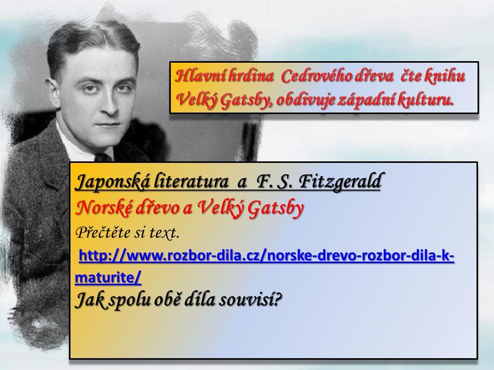 Japonská literatura a F. S.