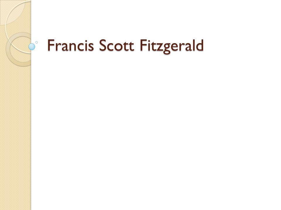 NÁZEV ŠKOLY : Gymnázium Lovosice, Sady pionýrů 600/6 ČÍSLO PROJEKTU : CZ.1.07/1.5.00/34.1073 NÁZEV MATERIÁLU : VY_32_INOVACE_2B_17_Francis Scott Fitzgerald TÉMA SADY : Literatura 19.