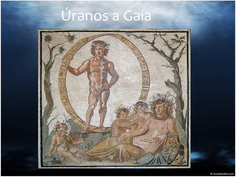 Úranos a Gaia