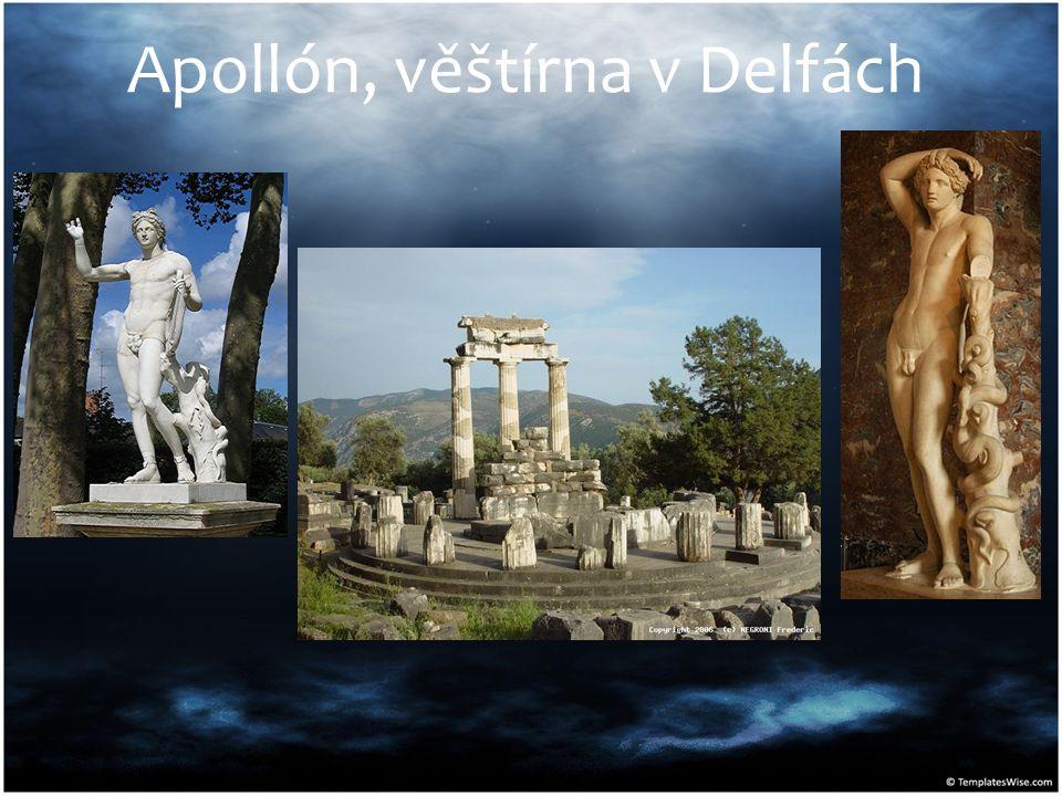 Apollón, věštírna v Delfách