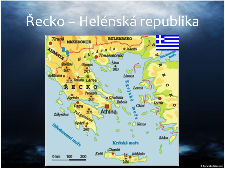 Řecko – Helénská republika