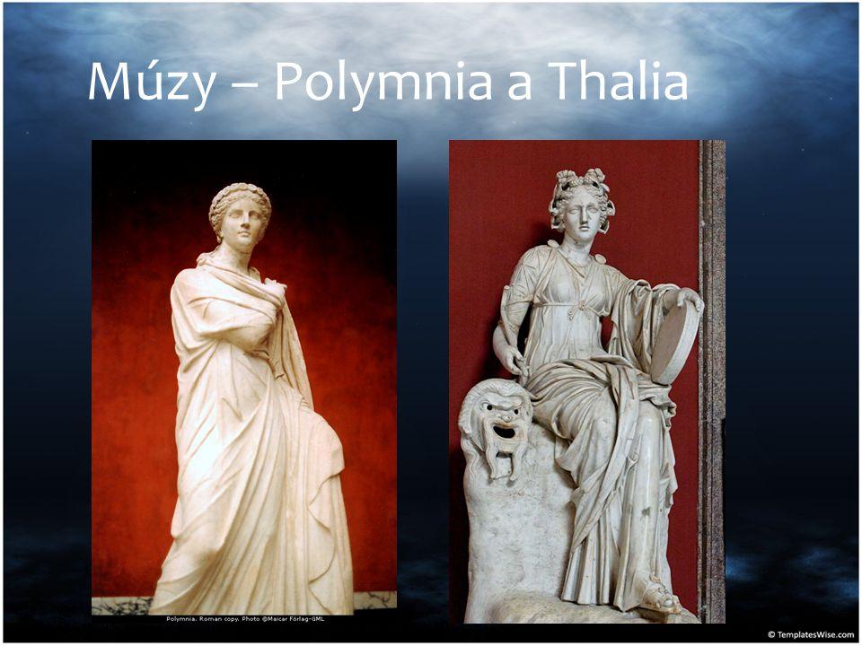 Múzy – Polymnia a Thalia