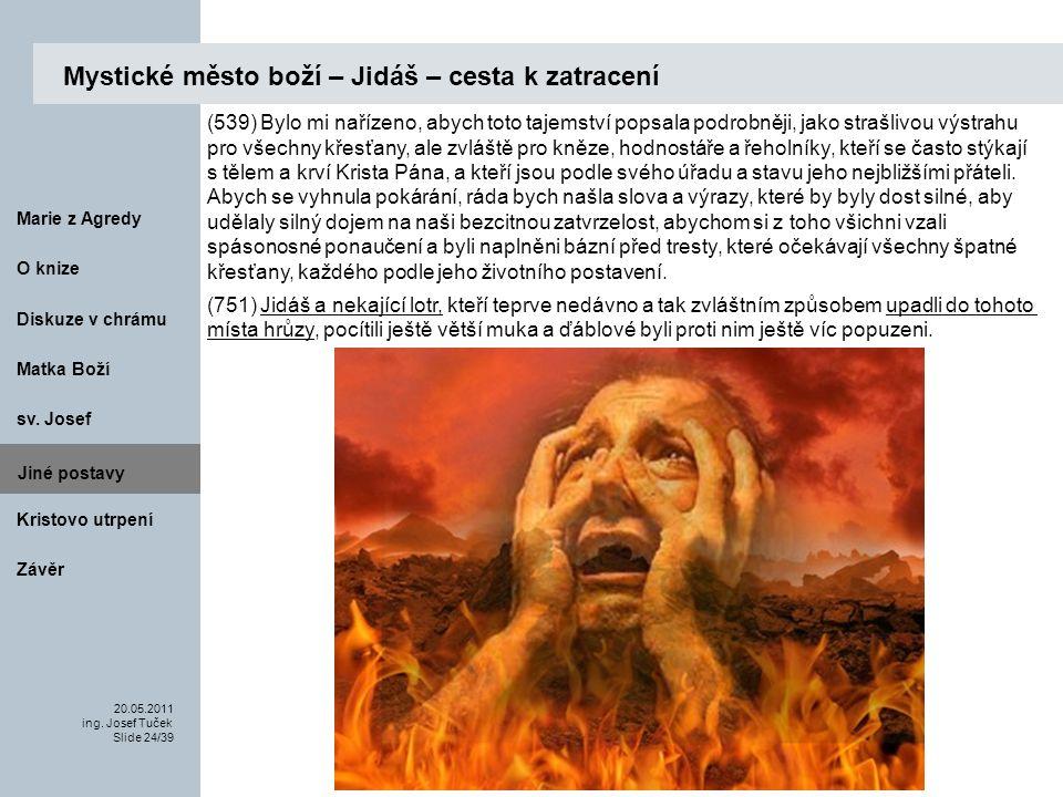 Matka Boží O knize 20.05.2011 ing.Josef Tuček Slide 24/39 Marie z Agredy sv.