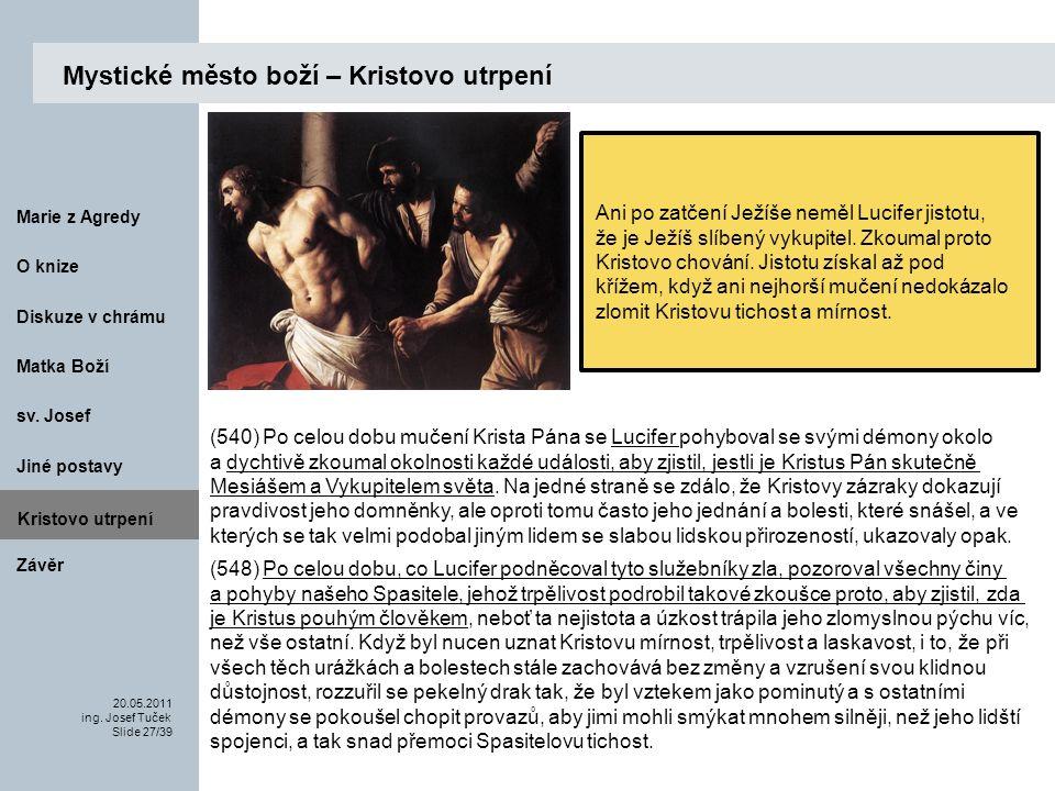 Matka Boží O knize 20.05.2011 ing.Josef Tuček Slide 27/39 Marie z Agredy sv.