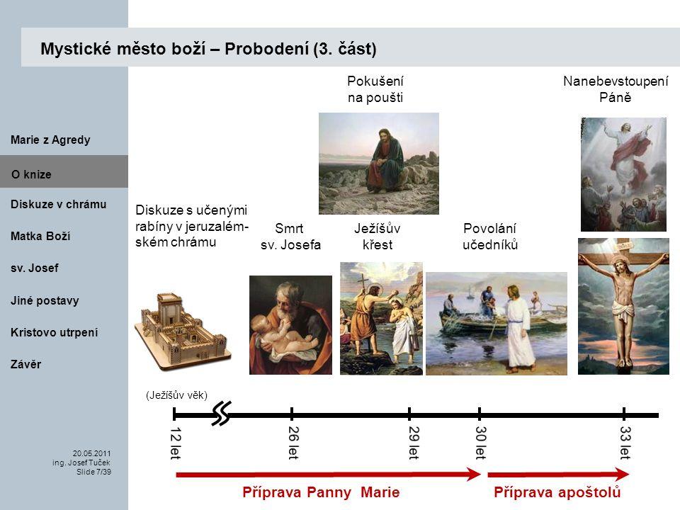 Matka Boží O knize 20.05.2011 ing.Josef Tuček Slide 8/39 Marie z Agredy sv.