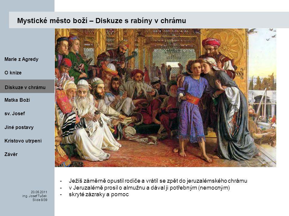 Matka Boží O knize 20.05.2011 ing.Josef Tuček Slide 39/39 Marie z Agredy sv.
