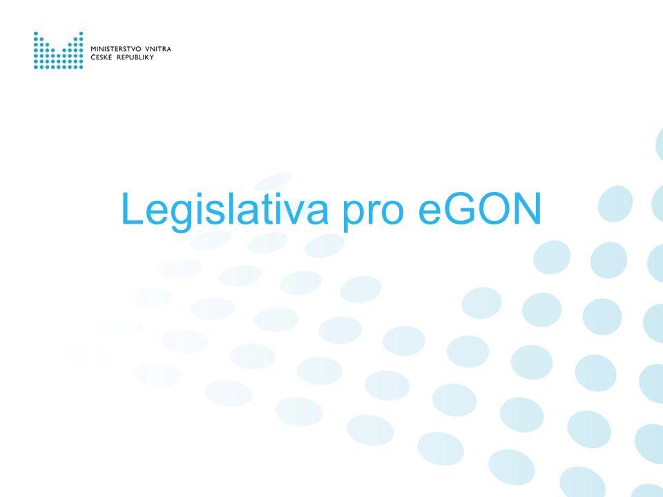 Legislativa pro eGON