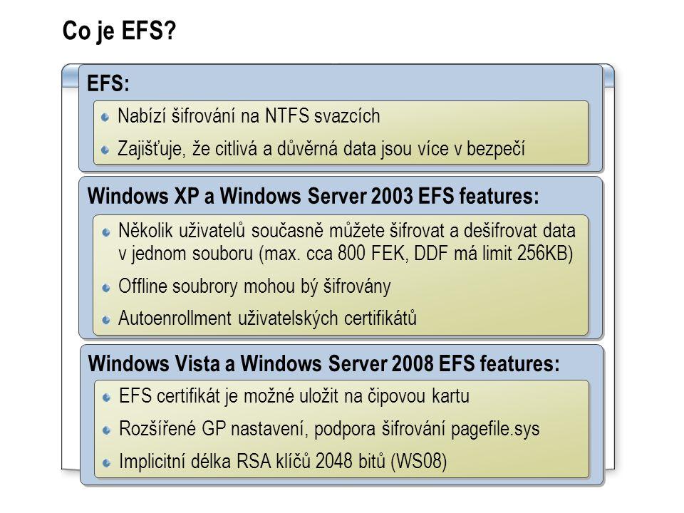 Co je EFS.