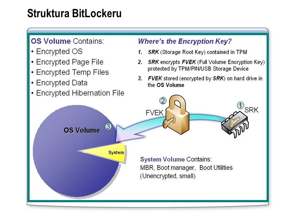 Struktura BitLockeru