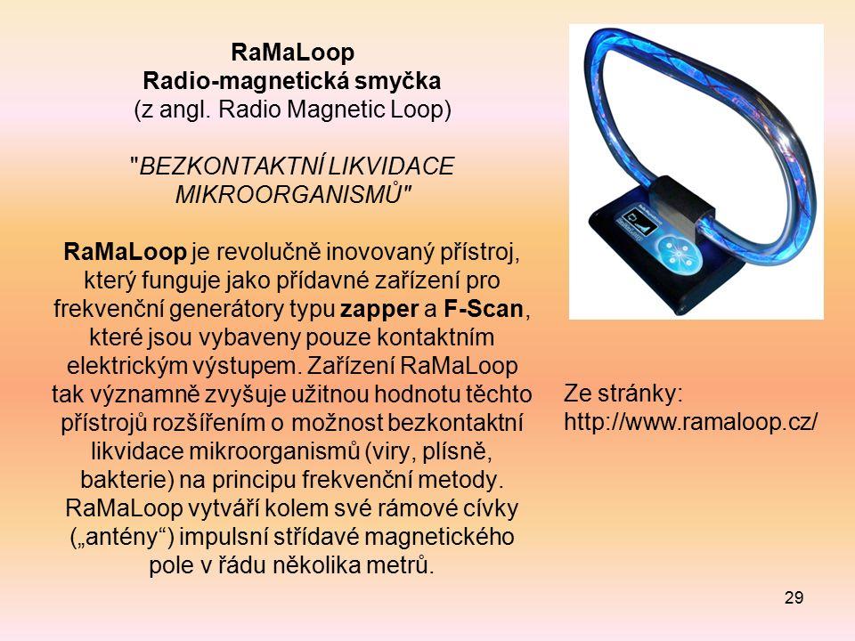 RaMaLoop Radio-magnetická smyčka (z angl.