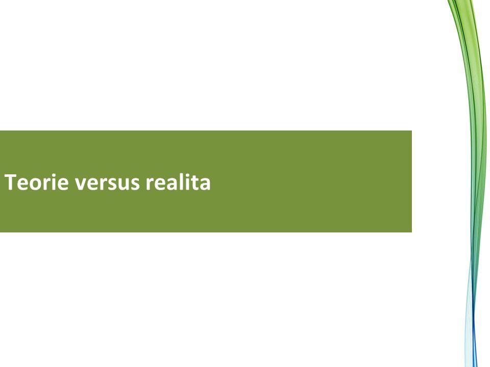 Teorie versus realita