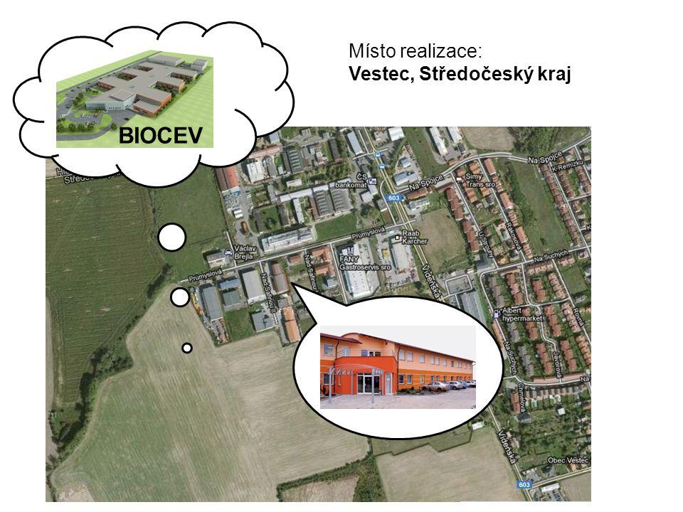 Centrum mikrobiologie CZ.1.07/2.3.00/20.0055 Místo realizace: Vestec, Středočeský kraj BIOCEV