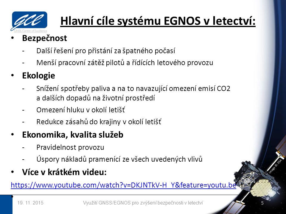 image ©: ESA Hlavní cíle systému EGNOS v letectví: 19.