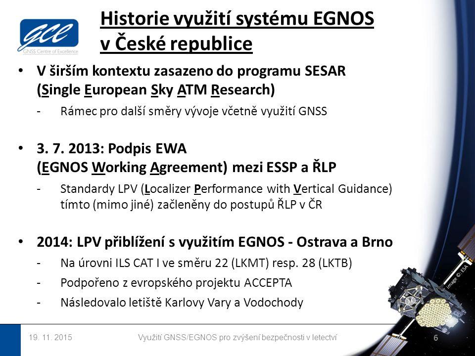 image ©: ESA Historie využití systému EGNOS v České republice 19.