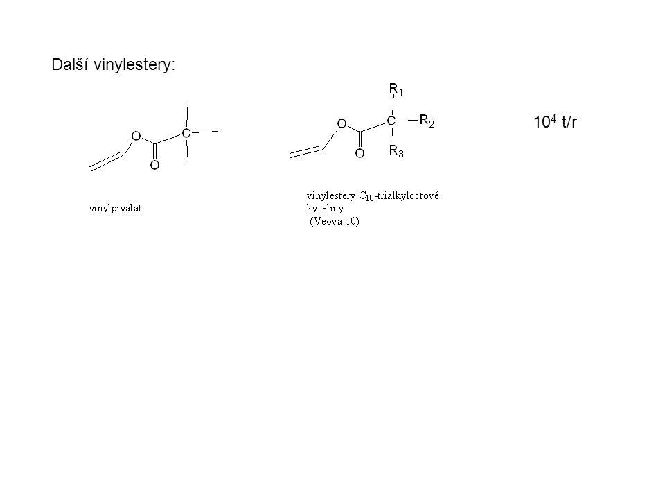 Další vinylestery: 10 4 t/r