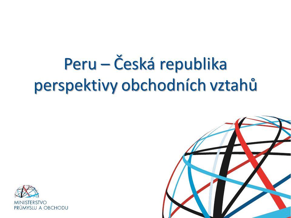 Peru – Česká republika perspektivy obchodních vztahů