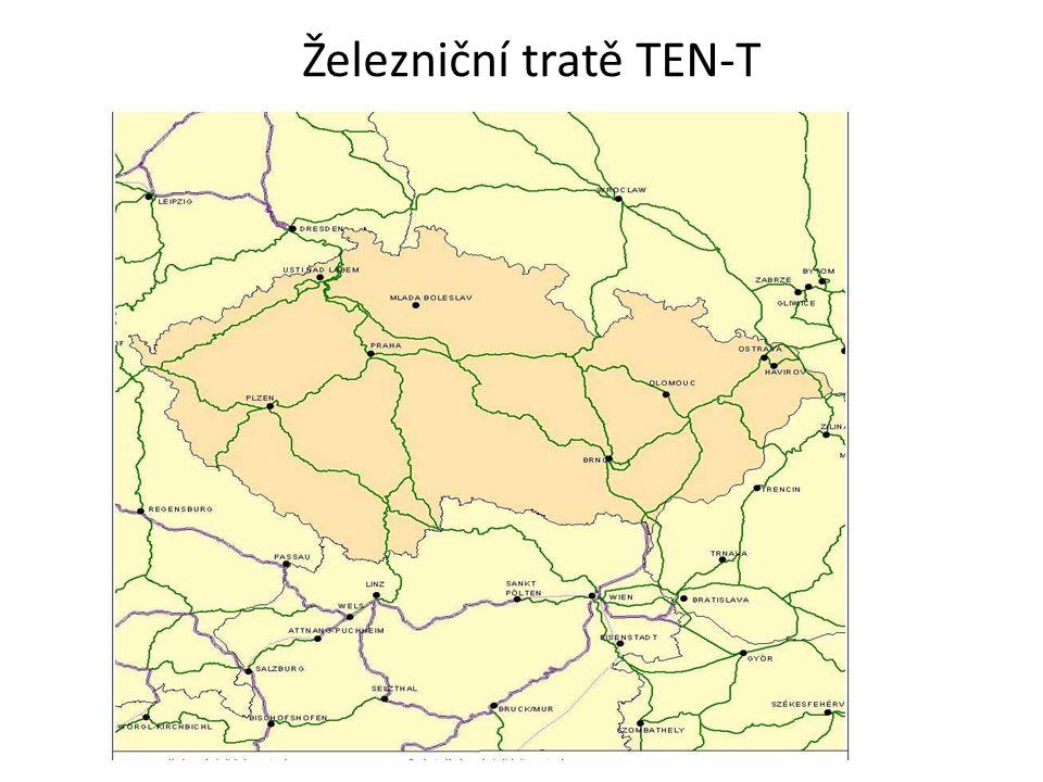 Železniční tratě TEN-T