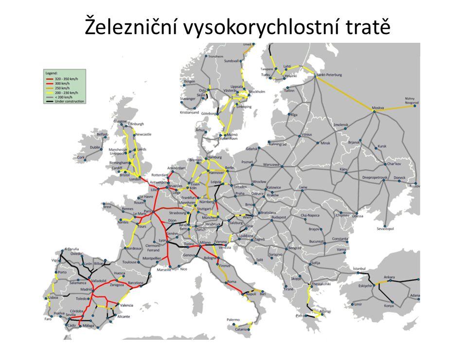 Železniční vysokorychlostní tratě