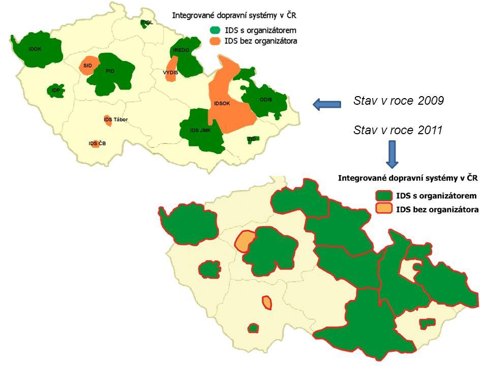 Stav v roce 2009 Stav v roce 2011