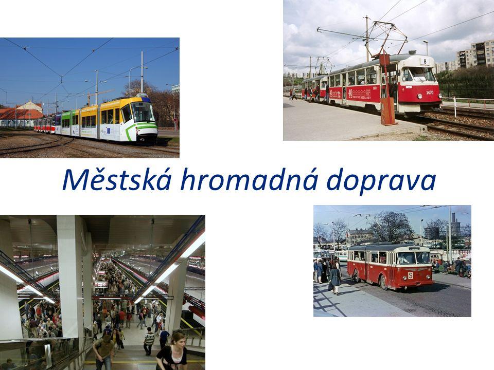 Intenzita dopravy - 2010