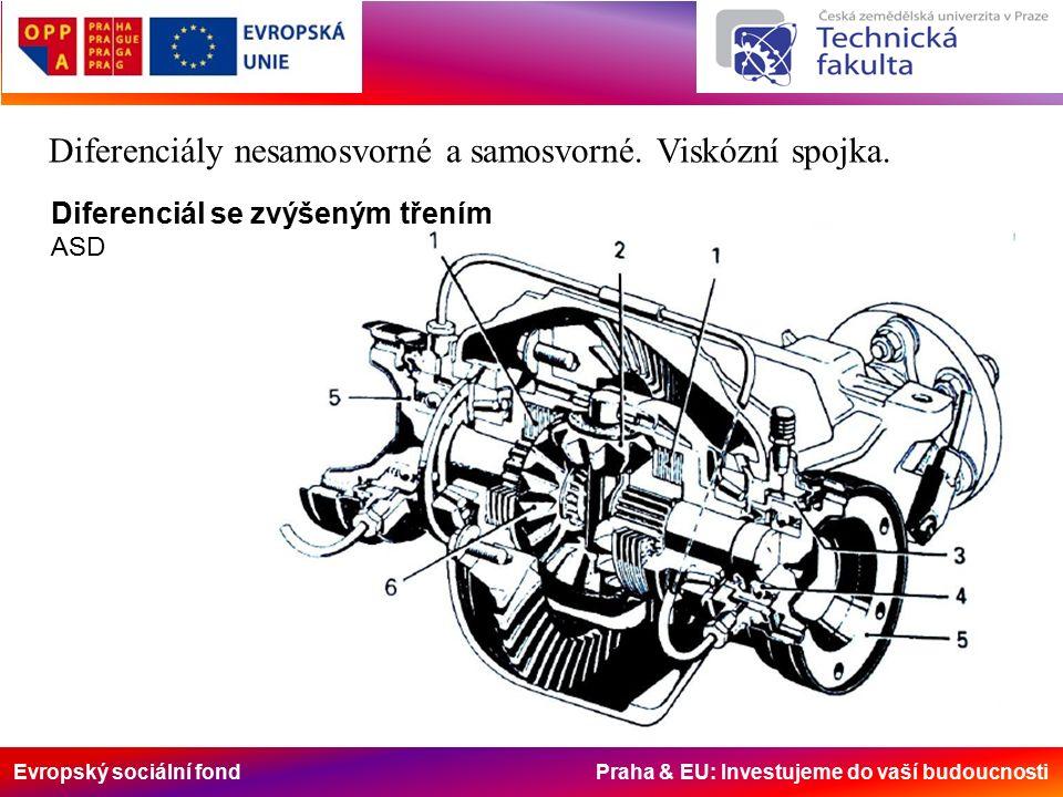 Evropský sociální fond Praha & EU: Investujeme do vaší budoucnosti Diferenciály nesamosvorné a samosvorné.