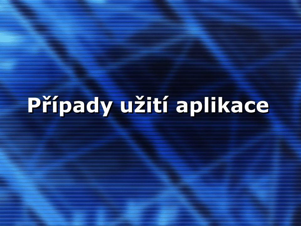 CIT OU, 10.11.05, CPVŠK 2005 Prototyp aplikace Možnost návaznost na další studijní agendy Portálové řešení + klasické webové řešení