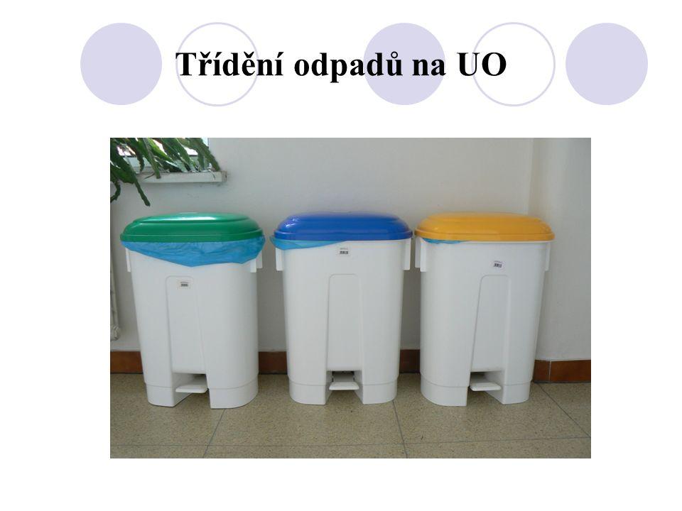 Třídění odpadů na UO