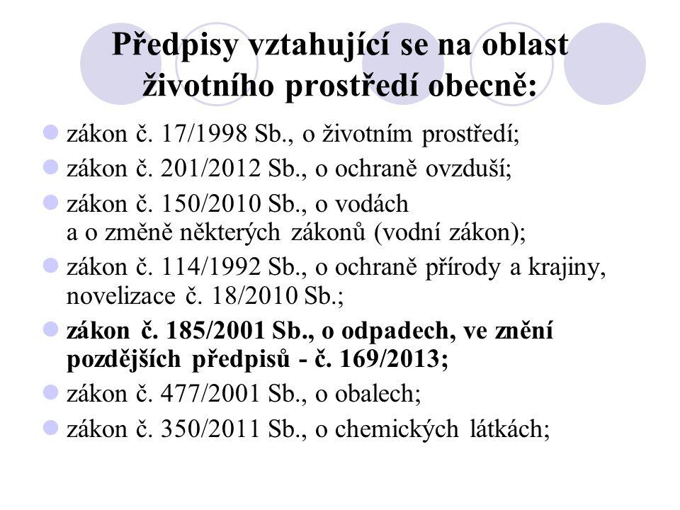 Roční bilance ekologické likvidace odpadů Za rok 2013 bylo ekologicky zlikvidováno: V Brně a Vyškově nebezpečný odpad - 46,33 tuny, obyčejný odpad - 81,17 tuny, Železo, příjem do státní pokladny - 8,14 tuny, V Hradci Králové nebezpečný odpad - 4,04 tuny, obyčejný odpad - 30,49 tuny, Celkem za UO - 170,17 tuny.