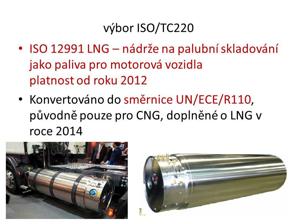 NGV Global + NGVA-Europe V roce 2015 se dosáhlo doplnění Evropské dohody o přepravě nebezpečného zboží po silnici (ADR) o možnost použití LNG jako paliva pro vozidla pro přepravu LNG.