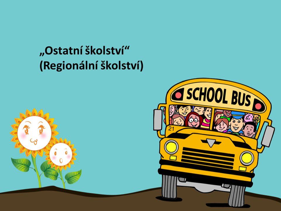 """""""Ostatní školství"""" (Regionální školství)"""