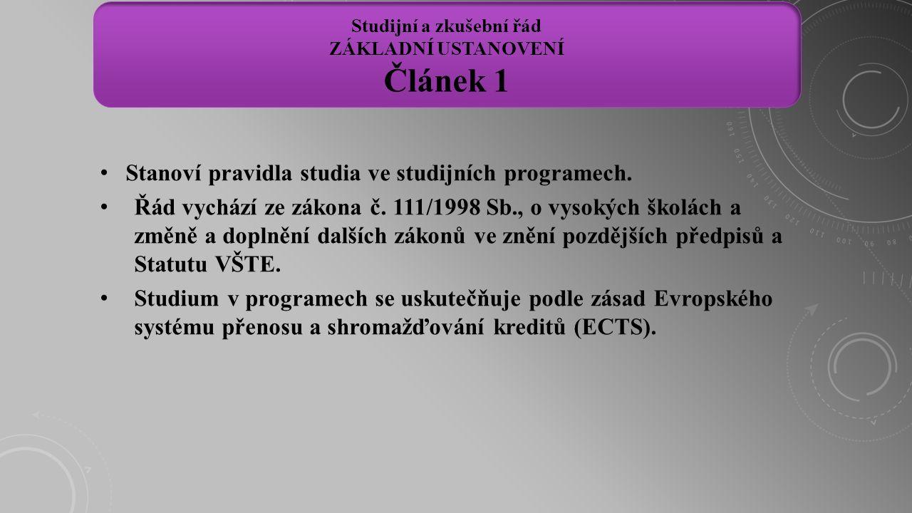 """Studium se řádně ukončuje státní závěrečnou zkouškou (dále jen """"SZZ )."""
