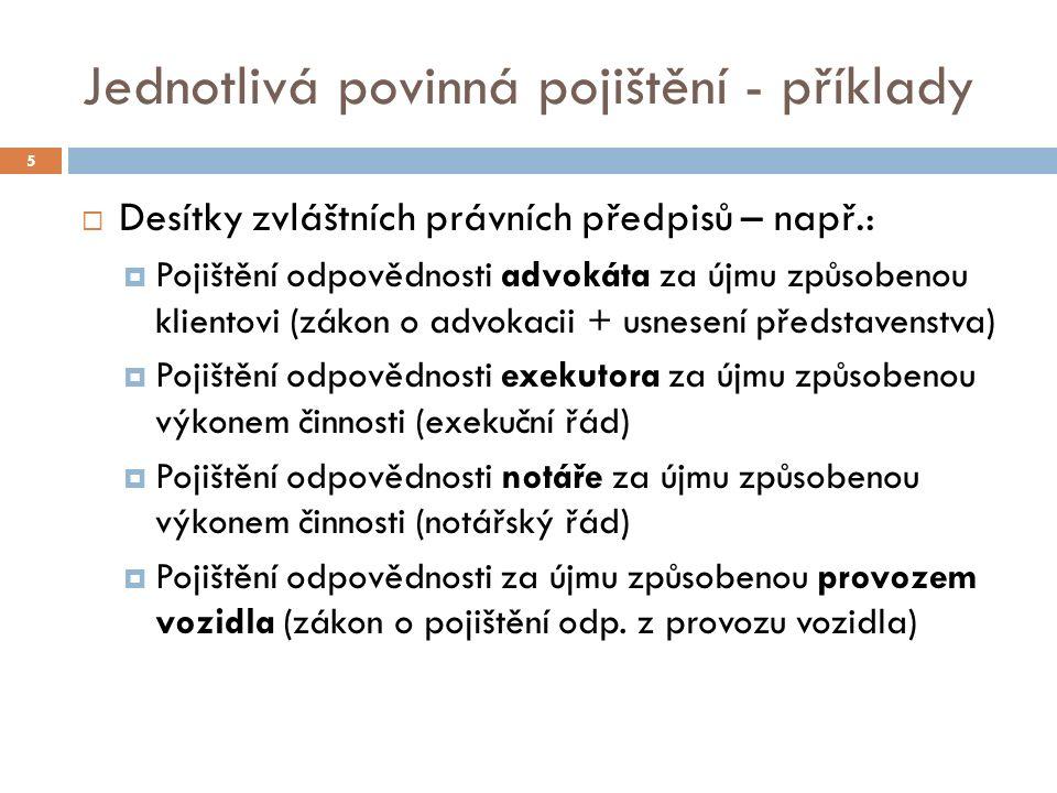 II) Současný stav v ČR 36