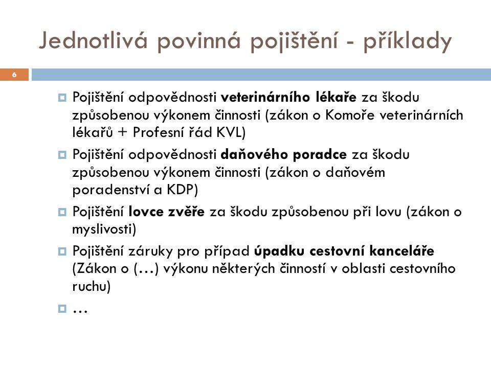 II) Současný stav v ČR 37