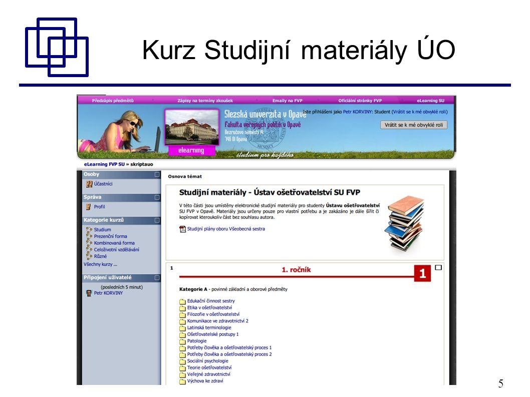 5 Kurz Studijní materiály ÚO
