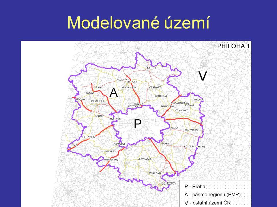 Modelované území