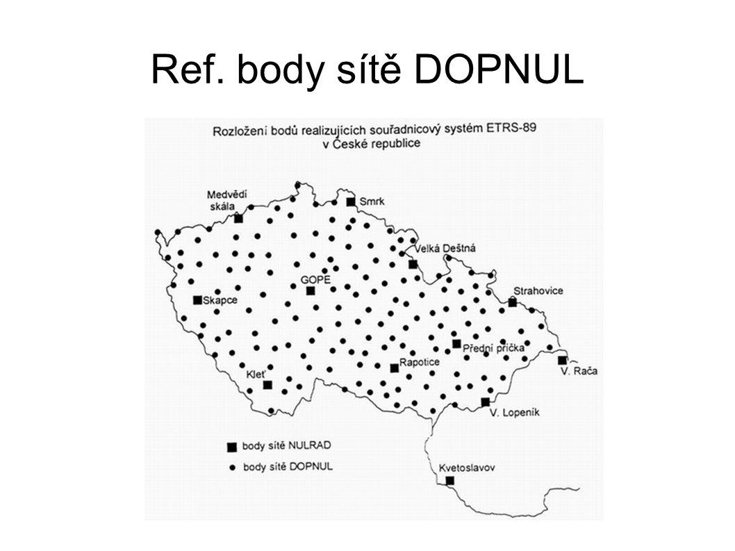 Ref. body sítě DOPNUL