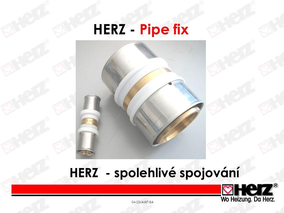 04-03/AWT-BA HERZ - Pipe fix HERZ - spolehlivé spojování