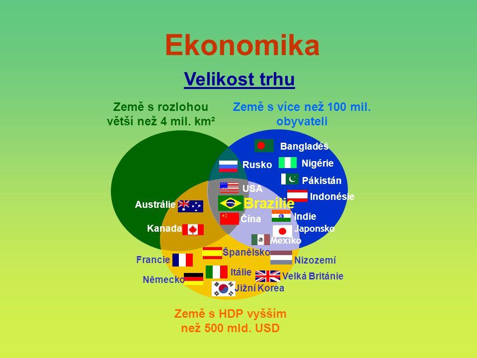 Velikost trhu Ekonomika
