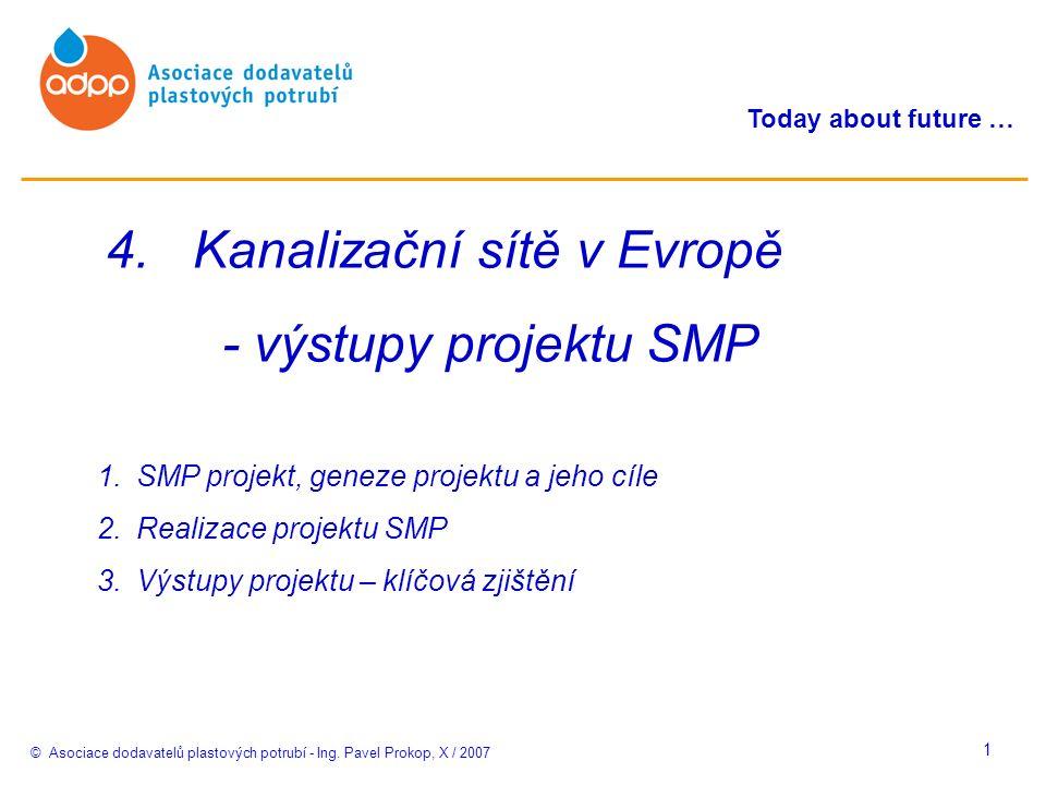 © Asociace dodavatelů plastových potrubí - Ing. Pavel Prokop, X / 2007 Today about future … 1 4.