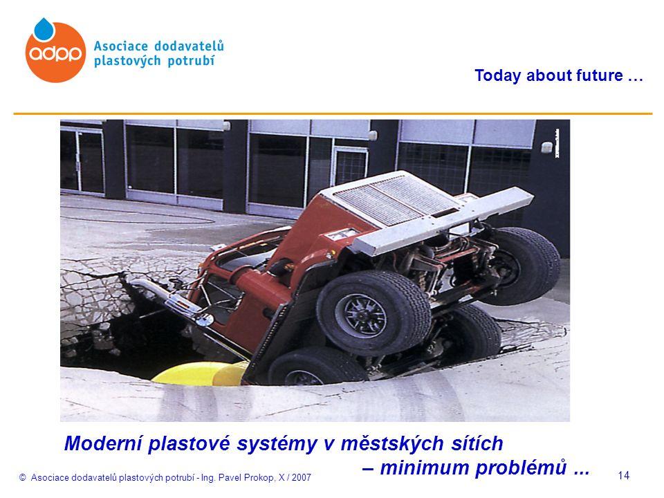 © Asociace dodavatelů plastových potrubí - Ing.