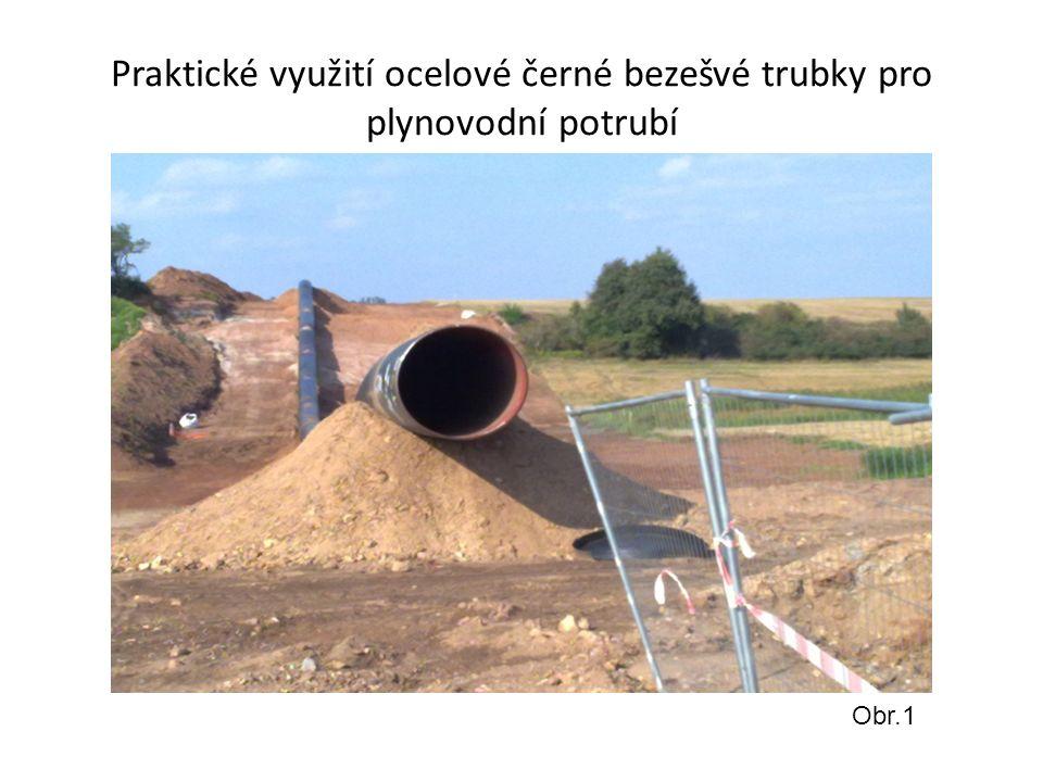 Praktické využití ocelové černé bezešvé trubky pro plynovodní potrubí Obr.1