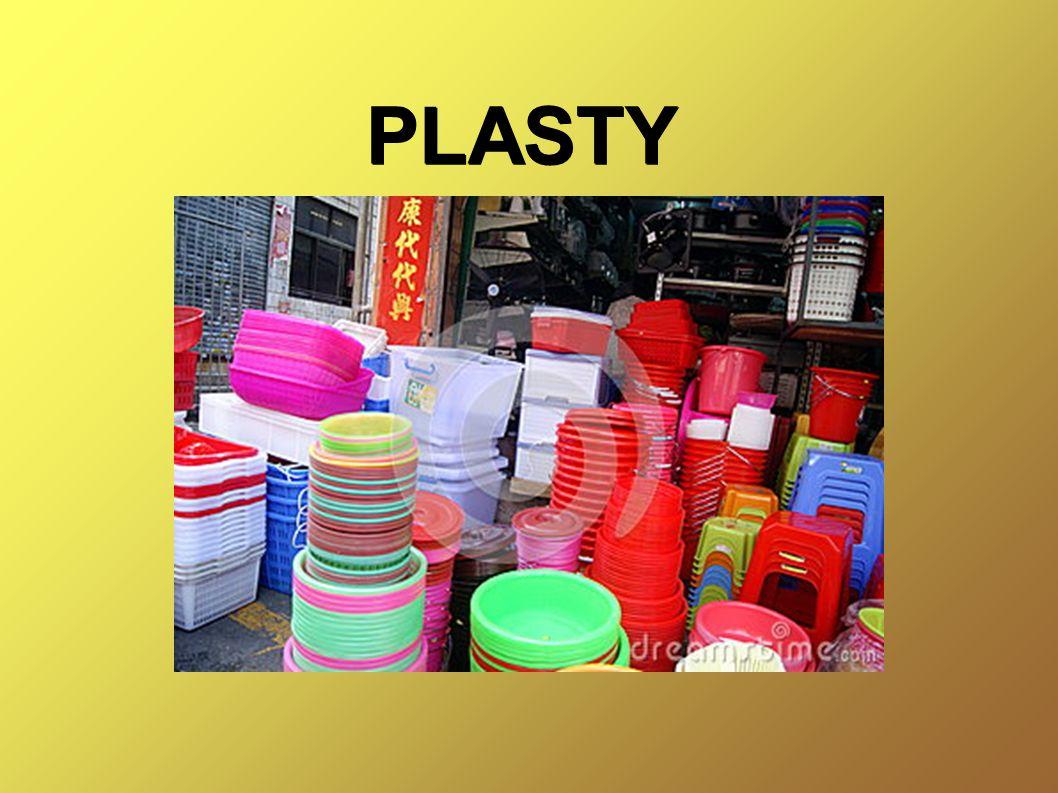 Plasty jsou organické sloučeniny vyrobené uměle v laboratořích.