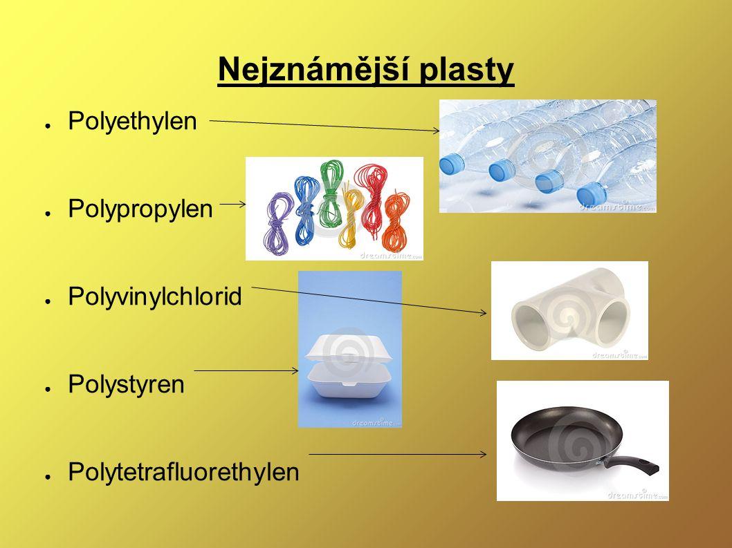 Ukázka výroby nejrozšířenějších plastů http://www.youtube.com/watch?v=6IYKoHab334 http://www.youtube.com/watch?v=rvmZiO_Fp98