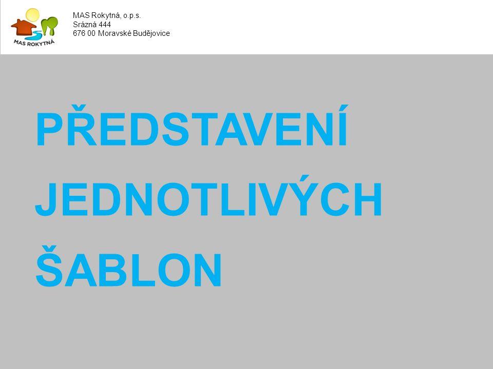 MAS Rokytná, o.p.s. Srázná 444 676 00 Moravské Budějovice
